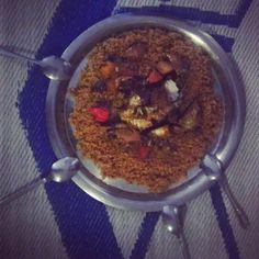 Thieboudienne, le riz au poisson (en wolof), qu'on partage en Afrique de l'ouest, notamment au Sénégal
