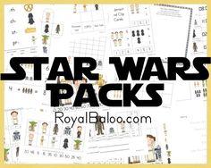 FREE Star Wars Printable Packs - Frugal Homeschool Family