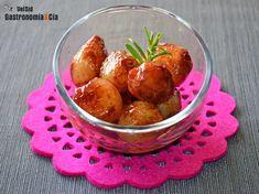 Cebollitas francesas glaseadas al Oporto No Cook Appetizers, Pretzel Bites, Cooking Time, Starters, Potato Salad, Side Dishes, Muffin, Good Food, Fruit