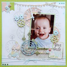 Your Smile {CCG #248} - Scrapbook.com