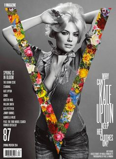 the only way is upton: kate upton by inez & vinoodh for v #87 spring preview 2014