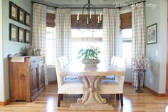 6 Noble Tips AND Tricks: Coastal Palette Living Room coastal home entry.Coastal Crafts To Sell coastal furniture master bath. Coastal Living, Coastal Decor, Coastal Curtains, Coastal Bedding, Coastal Style, Kitchen Chair Covers, Cottage Dining Rooms, Elegant Curtains, Coastal Furniture