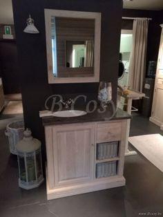 ll-bath-021w-meuble salle de bain simple en chene et pierre bleue