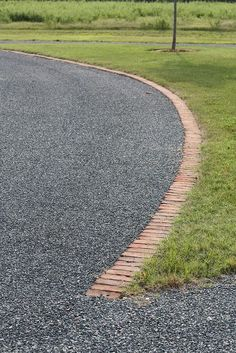 driveway edging by Landscape Library, via Flickr