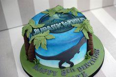 Jurassic World Cake Jurassicworld My Cakes Pinterest
