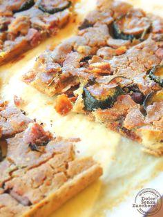Focaccia di Quinoa con Olive e Zucchine | Dolce Senza Zucchero