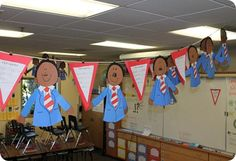 Martin Luther King Art, Fluency, and Timeline. Martin Luther King Art, Fluency, and Timeline. Kindergarten Social Studies, Teaching Social Studies, In Kindergarten, Holiday Classrooms, Classroom Activities, Classroom Ideas, Winter Activities, King Art, School Holidays