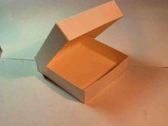 pizza box style gift box