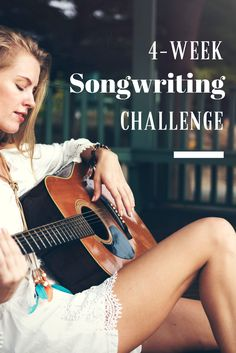 Join the 4-Week Songwriting Challenge at Modern Songstress | Weekly challenges delivered via email