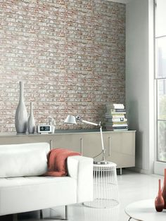 "Our new rustic brick design is perfect to bring the very bang on trend ""loft look"" to your home, all without breaking the bank!Design: PatternedRoll length 10.05mDepth 6.2cmHeight 6.2cmWidth 53cmStraight MatchFull hanging instructions on reverse of label"