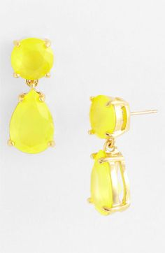 kate spade new york drop earrings available at Nordstrom