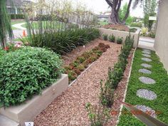 An artful use of xeriscape landscaping