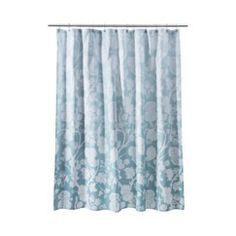 "Target Home™ Floral Shower Curtain - Blue Ombre (72x72"")"