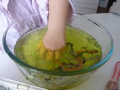 Messy Play: Snakes in Jelly! - Pinned by @PediaStaff – Please visit http://ht.ly/63sNt for all (hundreds of) our pediatric therapy pins