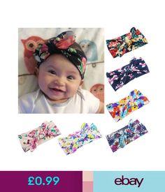 Hair Accessories Print Rabbit Ear Girls Kids Head Wrap Infant Turban Floral Bowknot  Headbands  ebay 669a7aa24752