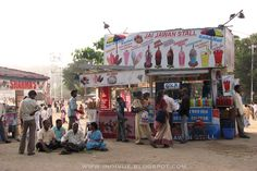 Ice-cream in Chowpatty beach, Mumbai, 2005