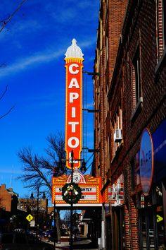 The Capitol Theatre Aberdeen South Dakota, High School Memories, Your Story, Fun Things, Sd, Theatre, Stuff To Do, Nostalgia, Building