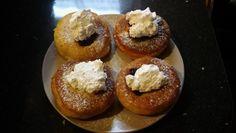 Koláč lenivej ženy - Báječné recepty Doughnut, Baked Potato, Muffin, Cooking Recipes, Breakfast, Ethnic Recipes, Basket, Morning Coffee, Chef Recipes