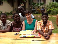 At Mish Mash. Was having bit of frustrating day til these lovelies (albeit randoms) turned up to cheer me up. #loveUganda #loverandoms #Kampala