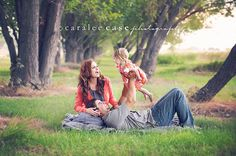 outdoor family session