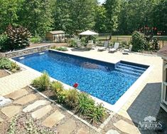 40 Brilliantly Awesome Backyard Pool Ideas to Turn into Relaxing Retreats. tags: backyard ideas, swimming pool design, backyard pool ideas on budget, small backyard pool, backyard pool lanscaping. Small Swimming Pools, Small Backyard Pools, Backyard Pool Landscaping, Backyard Pool Designs, Swimming Pools Backyard, Landscaping Ideas, Backyard Ideas, Lap Pools, Indoor Pools