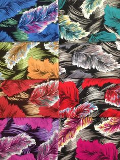 Fashion print pattern, very fashionable from colorfultextile