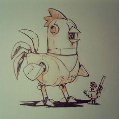 Chicken Mech -- Jake Parker