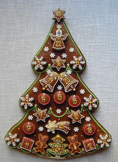 Christmas Sweets, Christmas Baking, Christmas Cookies, Christmas Ornaments, Royal Icing, Decoration, Biscotti, Gingerbread, Cross Stitch
