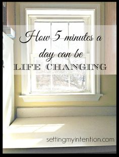 Habits are hard to start...and even harder to maintain. I've learned that starting with small achievable steps, like 5 minutes a day, is key in maintaining healthy habits. Here's my story of establishing spiritual care, self care, and decluttering habits that have been life changing!