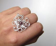 Bubble Energy - Sterling Silver $79