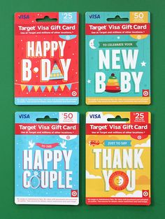 Brave the Woods' Target Gift Cards Design