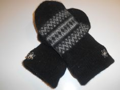 MMC0541 River Rouge Wool Mittens  lg/xlg by MichMittensbyLauri, $23.00