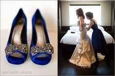 Royal blue wedding shoes Keywords: #weddings #jevelweddingplanning Follow Us: www.jevelweddingplanning.com  www.facebook.com/jevelweddingplanning/