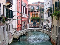 Venice. Man, I'm gonna cry.  I want to go to Italy so badly.