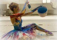 painted dancer