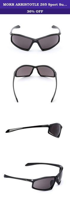 b453314ee0d MORR ARRISTOTLE Z65 Sport Sunglasses with Polarized Lenses for Mountain  Biking