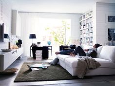 Ikea style... relaxing living room