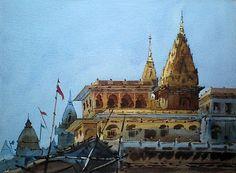 Benaras Temple by Vikrant Shitole