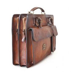 Pratesi,Milano,men's leather briefcase,men's business bag,laptop bag