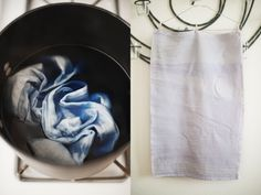 dyeing, naturally.