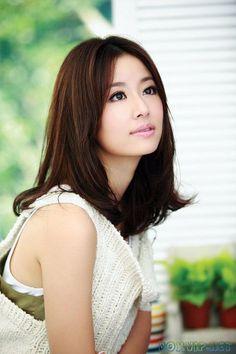 Ruby Lin Xin Ru - sweet natural makeup sort of