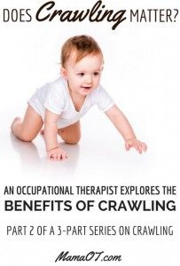OT Corner: Does Crawling Matter?-pinned by @PediaStaff – Please Visit ht.ly/63sNtfor all our pediatric therapy pins