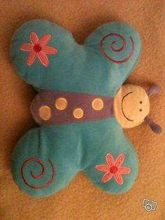 Butterfly Pillow, Butterflies, Pillows, Doggies, Cushions, Bags, Children, Projects, Butterfly