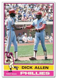 Dick Allen Hall of Fame: DA card redux project