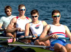 bce10dd0f16 Brand Strokes» The U.S. Rowing team suits up in Rudy Project. From left to  right  Jake Cornelius wears Ryzer