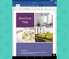Microsoft Word - Android Tablet