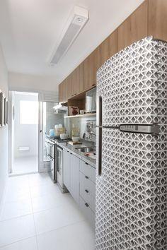 Separar Cozinha Da Lavanderia Fechar Area De Servico Porta
