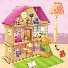Praatplaat huis.  Love This! (My girls)