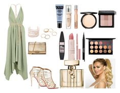 """Untitled #522"" by pattieduraes on Polyvore featuring Caravana, Christian Louboutin, Michael Kors, Alexis Bittar, NYX, Lancôme, Dr.Hauschka, Clinique, Maybelline and Stila"