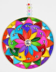 I think it'll look good quilled too Mandala Art, Mandalas Drawing, Mandala Painting, Dot Painting, Stone Painting, Hamsa Design, Mandala Design, Design Art, Cd Crafts